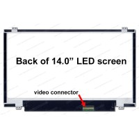 14.0 inch Laptop Screen Slim 40 Pin