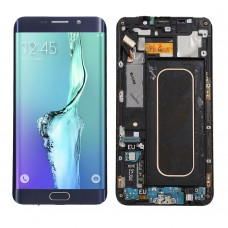 Samsung Galaxy S6 Plus Edge LCD Display Touch Screen Digitizer Assembly Replacement